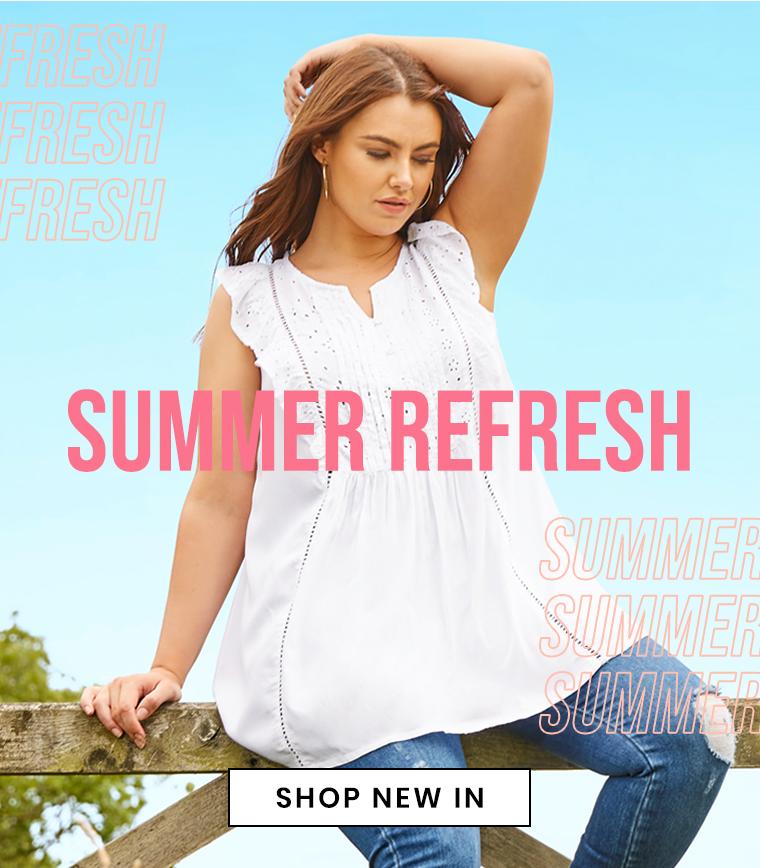 Summer Refresh - shop new in