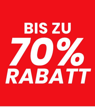 Bis zu 70% Rabatt