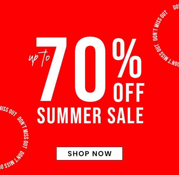 summer sale - up to 70% off
