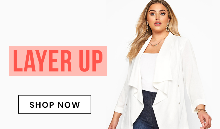 Plus size coats and jackets