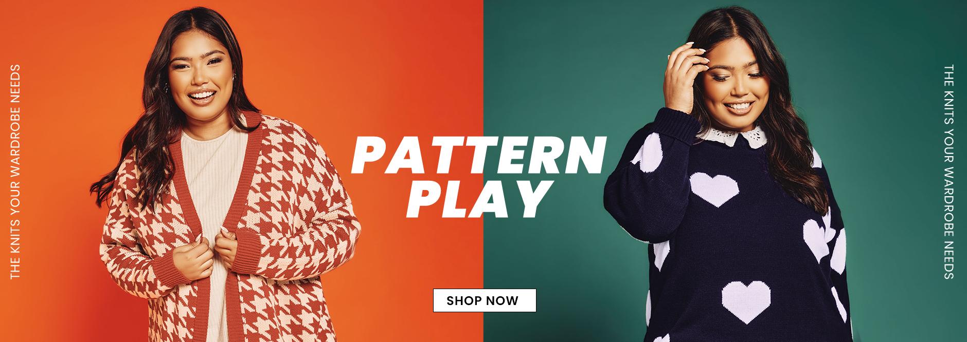 Plus Size Pattern Play