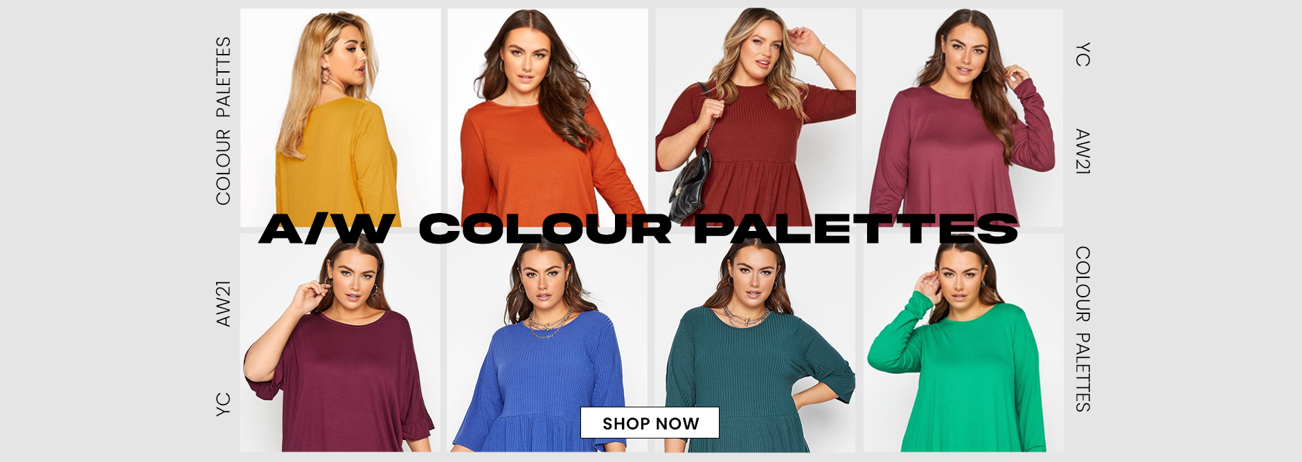 Plus Size A/W Colour Palette