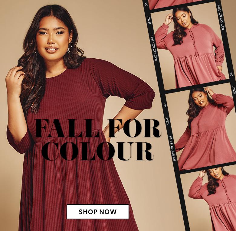Plus Size Autumn Colours