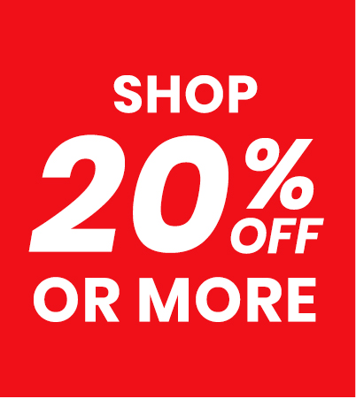 Shop up to 20% off