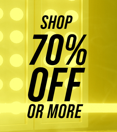 Shop up to 70% off