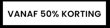 vanaf 50% korting